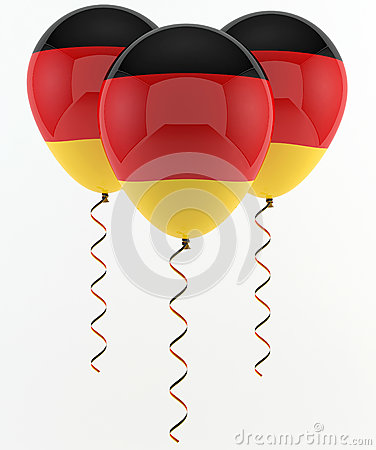 German balloons - flag
