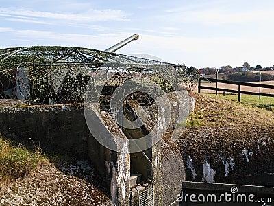German bunker of World War II