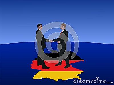 German business men meeting