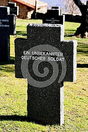 German Cemetery Cuacos de Yuste, Caceres, Spain