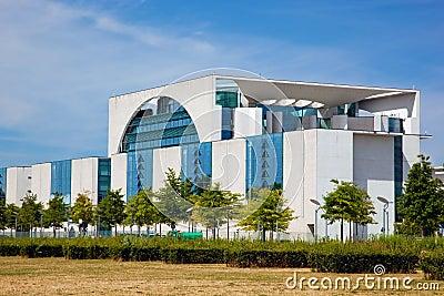 The German Chancellery, Berlin, Germany