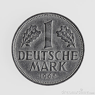 Free German Coin Stock Images - 10363394