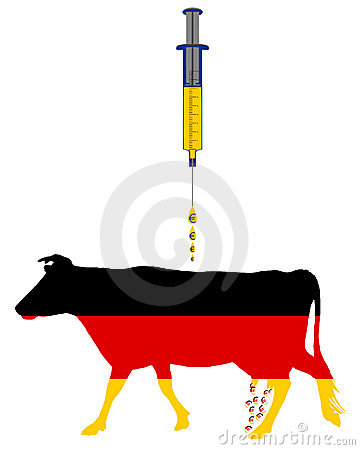 German cow and european cash injection