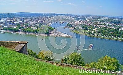 German Eck in Koblenz