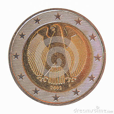 Free German Euro Coin Royalty Free Stock Photo - 46017255
