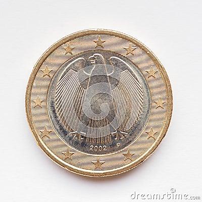Free German Euro Coin Stock Photo - 47214380