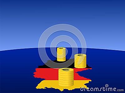 German Euro coins