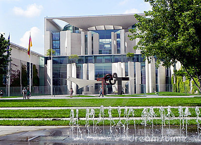 German Federal Chancellery Editorial Image