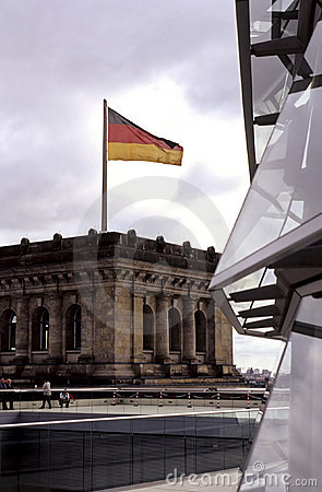German flag- Berlin, Germany