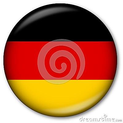 Free German Flag Button Royalty Free Stock Photos - 7315028
