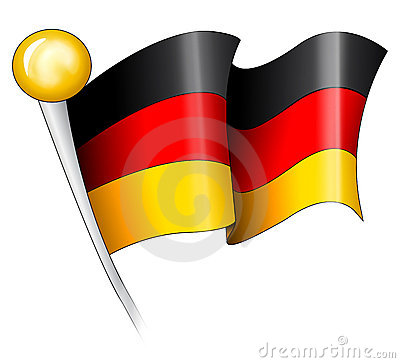 Free German Flag Illustration Royalty Free Stock Photography - 1824217
