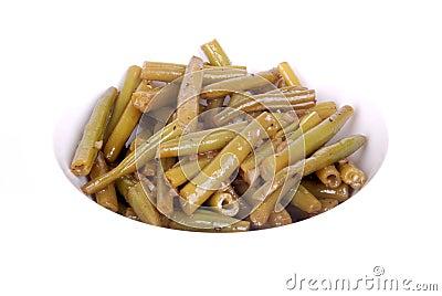 German green bean salad