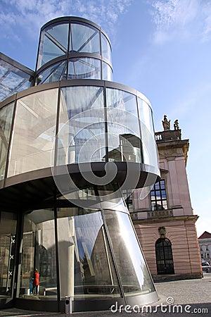 German historical museum in Berlin Editorial Stock Image