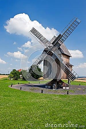 German historical windmill