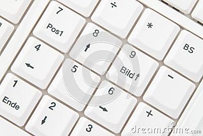 German Language Computer Keyboard