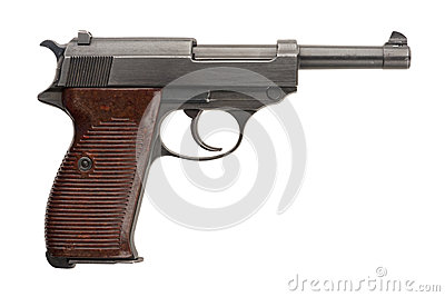 German Military Pistol