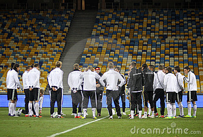 German national football team players Editorial Stock Image