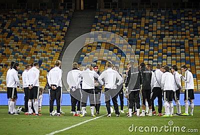 German national football team players Editorial Stock Image