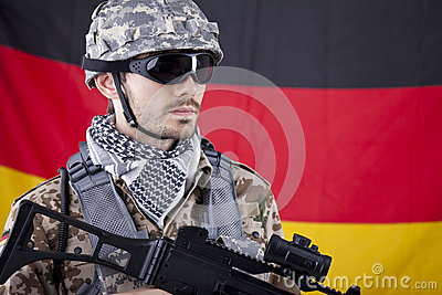 German NATO Soldier