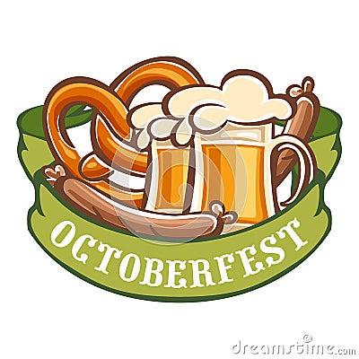 Free German Octoberfest Icon, Cartoon Style Royalty Free Stock Photo - 125246825