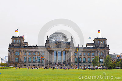 German Parliament Bundestag in Berlin, Germany
