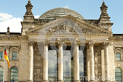 German parliament Bundestag in Berlin, Germany