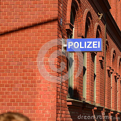 German police Editorial Image