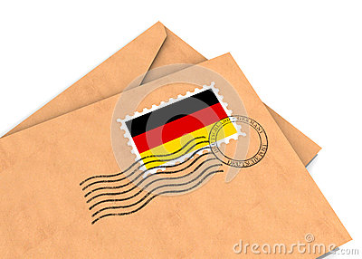 German Post Stock Photography - Image: 25515792