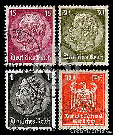 German Postage Stamps