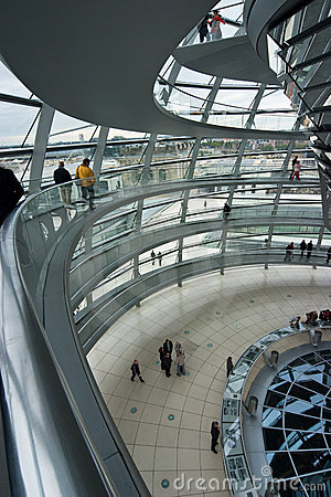 German Reichstag Dome
