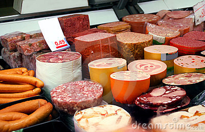 German sausage products