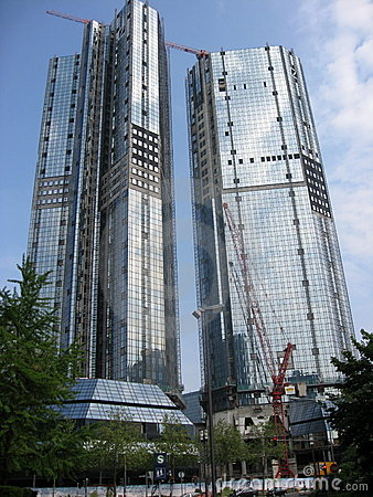 German skyscrapers