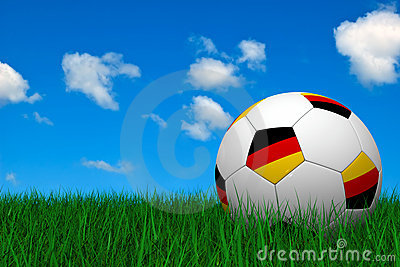 German soccer ball