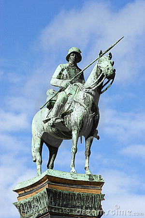 Free German Soldier Memorial Royalty Free Stock Photography - 20125967