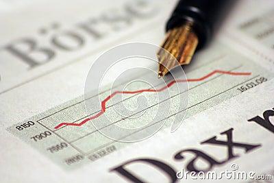 German stock index graph