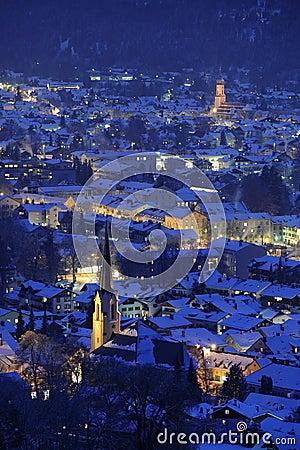Free German Town Garmisch-partenkirchen Royalty Free Stock Image - 8666456