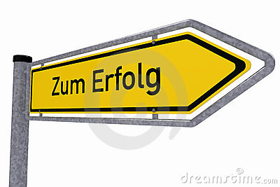 German traffic sign