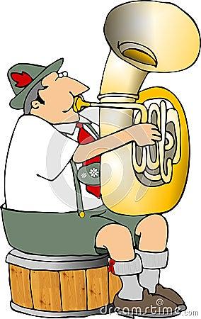 German tuba player