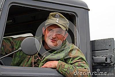 German uniform and ammo of ww2 Editorial Stock Photo