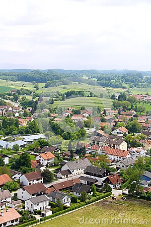 Free German Village On Viewing From Tower At Andechs Monastery Royalty Free Stock Photos - 31811248