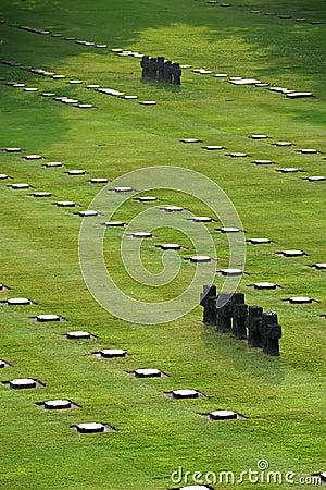German war cemetery (La Cambe)