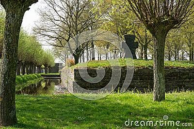 German war cemetery of Langemark