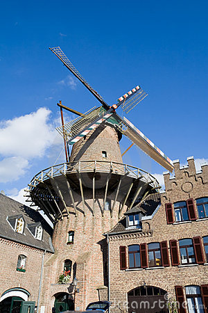 Free German Windmill Royalty Free Stock Photography - 18134907