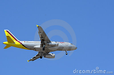 German Wings Airbus A319 Editorial Photography