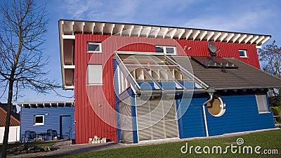 German wooden house