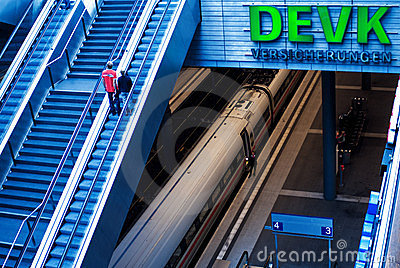Germany, Berlin Central Station Editorial Stock Image