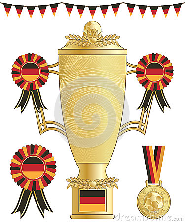 Germany football trophy