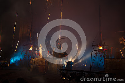 Germany group Titanic in spectacle Editorial Stock Photo