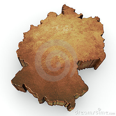 Germany map rendering
