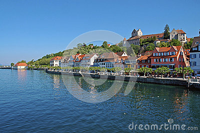 Germany, sea castle in Lake of Constance